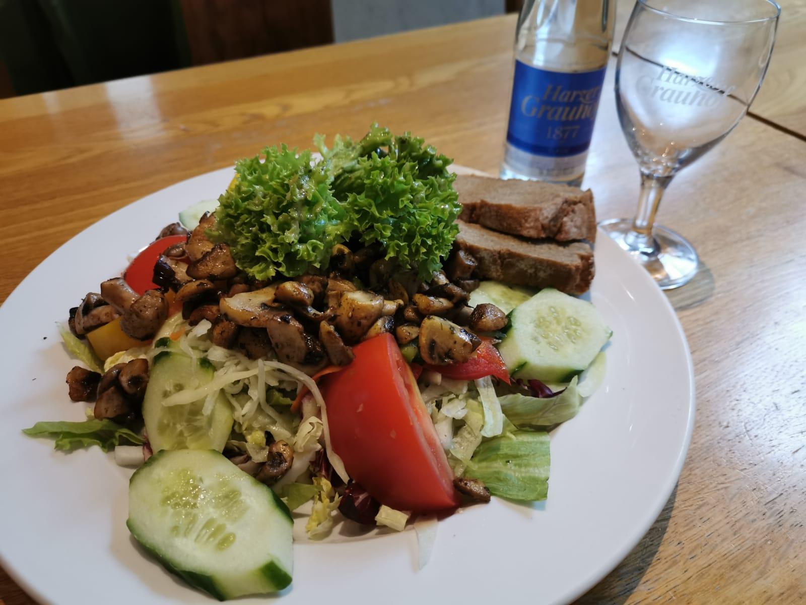 Suppen und Salate Brauhaus Goslar
