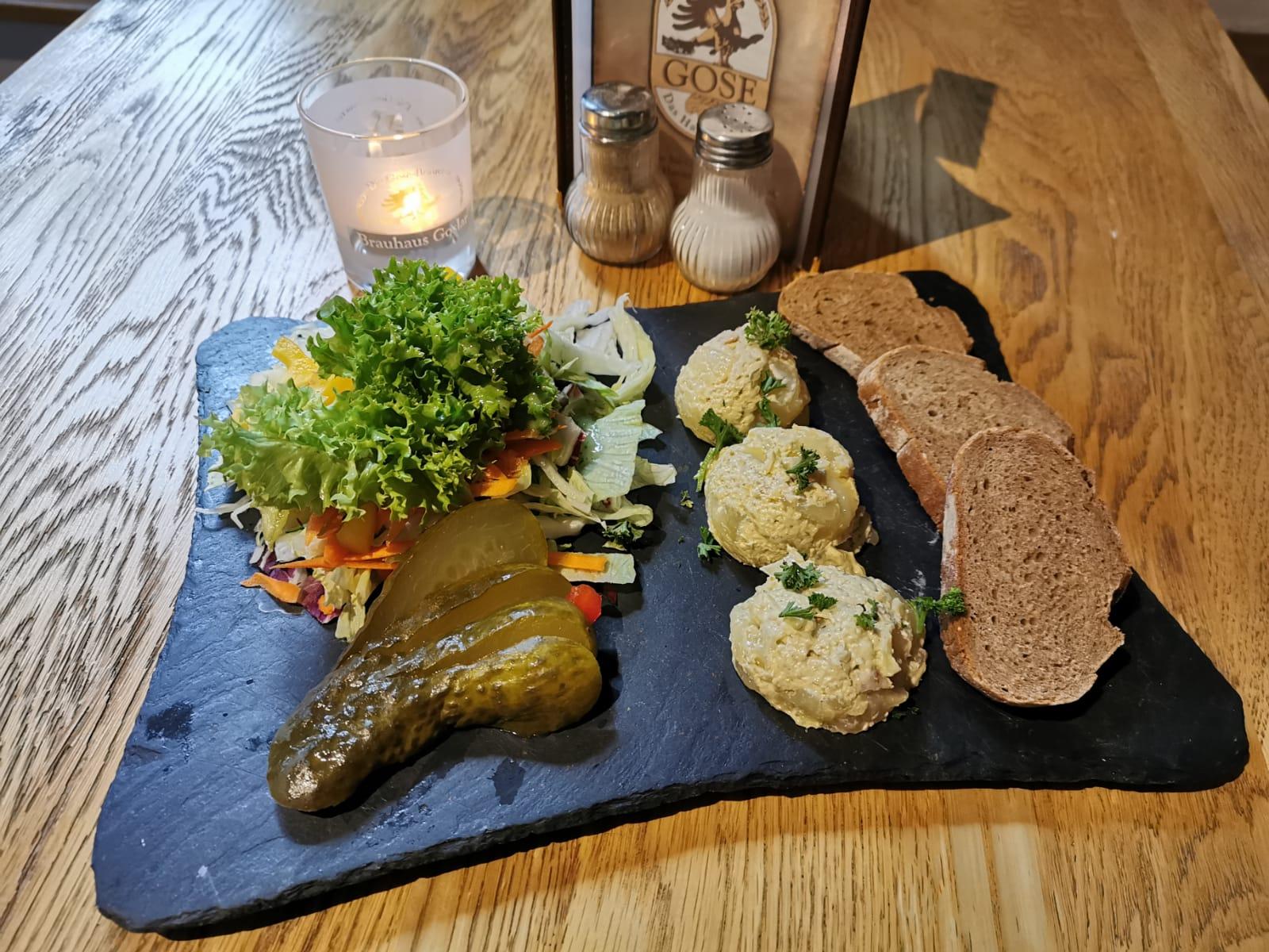 Kleine Speisen Brauhaus Goslar